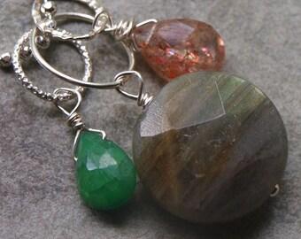 LAST CHANCE Emerald Charm Pendant