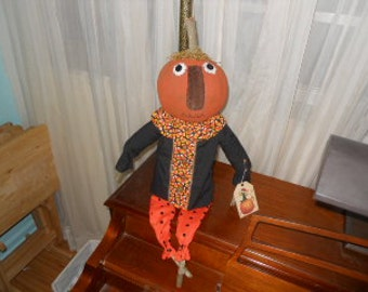 Halloween Jack Primitive Doll