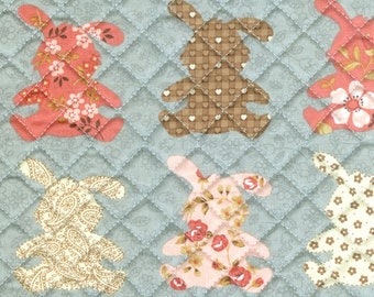 quilted cotton 1yard (43 x 35 inches) 37599
