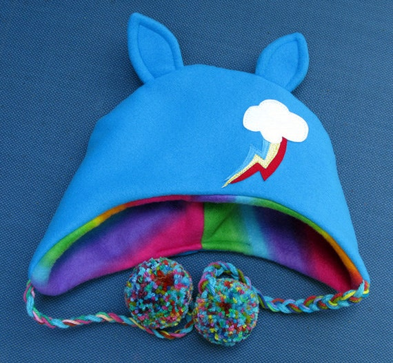 My Little Pony - Rainbow Dash Fleece Hat