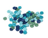 Mini Plastic Buttons /Two Holes Buttons/ Sewing Supplies/DIY Craft supplies /Novelty Buttons / Kids craft supplies