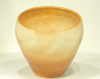 Ceramic Vase, Iron Speckled, Shino Glaze, Handmade, Pottery Art, Ornamental Vessel, Home Decor, MJS, 34
