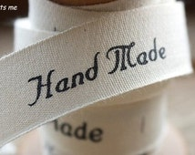 2 Yards Cotton Fabric Cloth -DIY Cloth Art Manual Cloth -Ribbon Labels Hand Made 17mm Wide