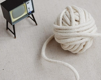 10 Yards Linen Cotton Rope Decorative Rope Cotton Cord 3mm Wide