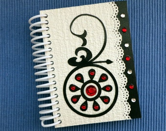 Notebook Red Stones