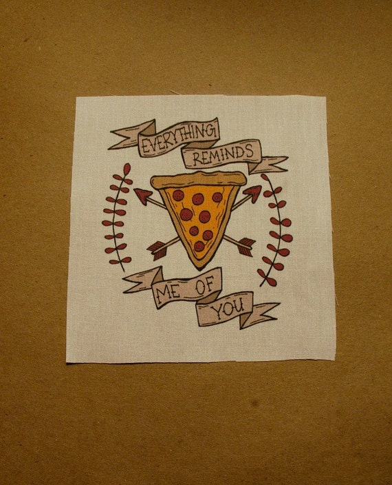 Everything Pizza Patch