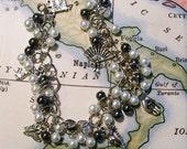 Tarabotti - steampunk beaded bracelet