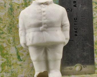 Vintage German  Doll Figure ceramic