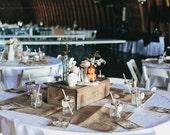 "20"" x 20""  Burlap Table Overlay, Burlap Square - Rustic Wedding, Shabby Chic Wedding, Barn Wedding, Thanksgiving, Holiday Decoration"