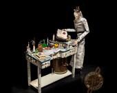 Steampunk Mad Scientist Marionette