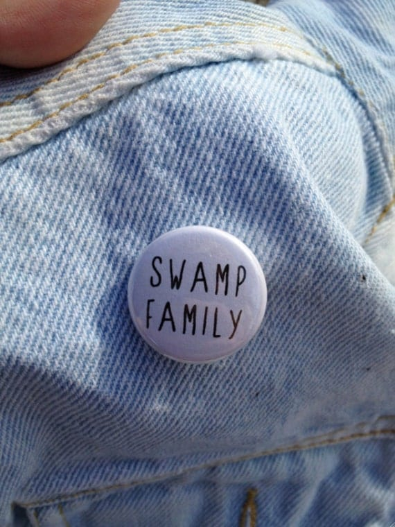 SWAMP FAMILY button
