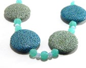 Green & Blue Julyanna Necklace - UnnamedRoad
