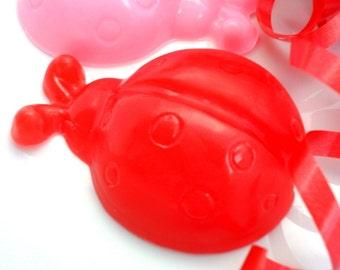 10 LADYBUG SOAP FAVORS - Ladybug Party Favor, Ladybug Birthday Party, Ladybug Baby Shower Favor - Bug Party, Butterfly