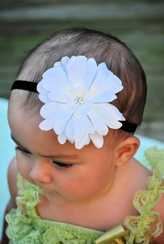 Flower Headband - Baby Headband - Infant Headband