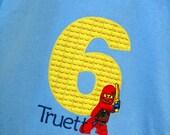 Personalized Ninjago Birthday T-Shirt - Free Personalization - Lego Ninja Ninjago
