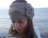 Knit headband, headwrap, ear warmer, Women Headband, Women Head Wrap, Winter Headband, Knit Ear Warmer