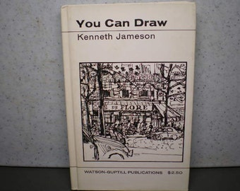 Vintage Mid Century Book - How To Draw