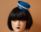 Cunene Sailor Fascinator Hat