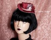 Cunene Fire brick Lady Mini Top hat
