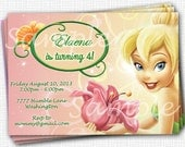 Tinkerbell Invitation - Printable File