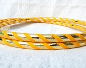 NEW: Golden Goddess Custom Hula Hoop - Collapsible or Standard - ANY Size