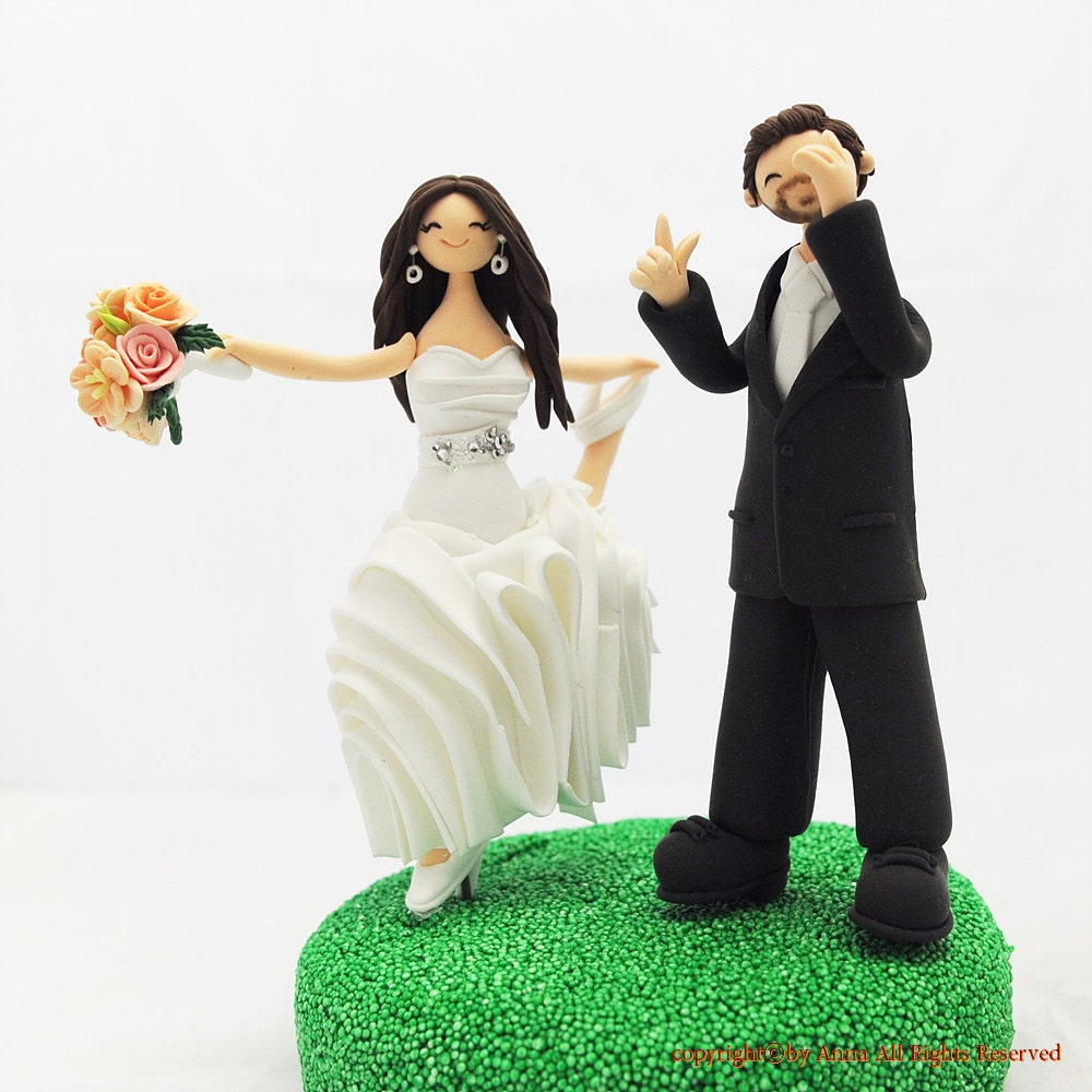 personal wedding cake toppers