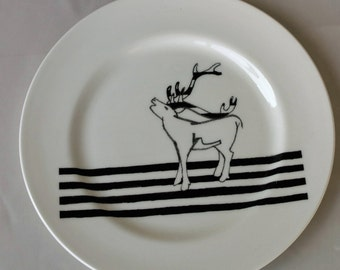 Limited edition Stag Plate