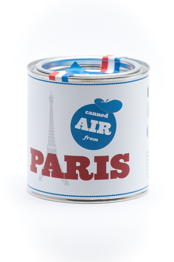 Original Canned Air From Paris, gag souvenir, gift, memorabilia