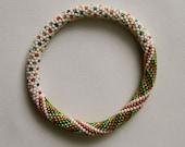 Bead Crochet Pattern:  Little Dots and Spirals