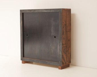Lake Louise Cabinet - Reclaimed Douglas Fir and Reclaimed Steel