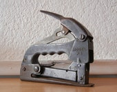 Antique Bostitch Stapler P-4, Box of Staples Included