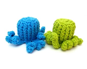 Large Kitty Catnip Octopus - Choose Your Colors - Catnip Toy