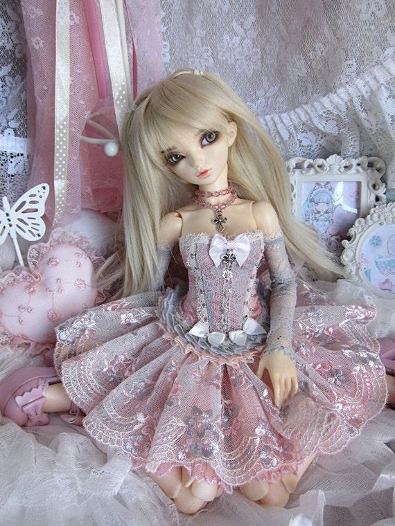 Porcelain Doll for Minifee / MSD Slim