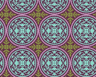 Joel Dewberry - AVIARY 2 - Scrollwork in Lilac JD44 - Free Spirit Fabrics - By the Yard