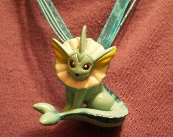 Pokemon Vaporeon Figure Necklace
