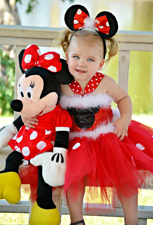 Minnie Tutu Dress Mickey/ Minnie Mouse by HaydiePotateeBoutq