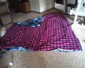 MADE TO ORDER Hearts Denim Quilt