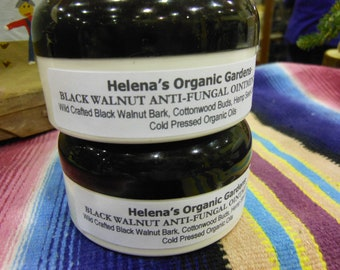 organic, natural Black Walnut Anti fungal salve with Hemp Oil