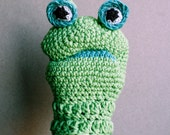 Cotton puppet - Frog - Made to order