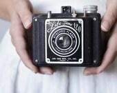 """Vintage Camera - """"Life Time 120"""" Metal Snapshot Box Camera"""