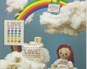 The Rainbow Alphabet Needlepoint & Cross Stitch 1981