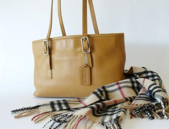 Reserved/Authentic Coach Legacy West Camel Tan Market Tote Shoulder Bag