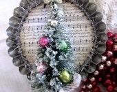 O Christmas Tree-  Bottle Brush Tree Ornament