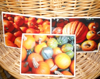 Fall Photo Cards Set of 3