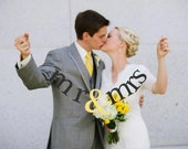 SHIPS PRIORITY.  mr & mrs Banner.  Wedding Decorations.  Photo Prop.  Fun Banner for the Newlywed.  5280 Bliss.