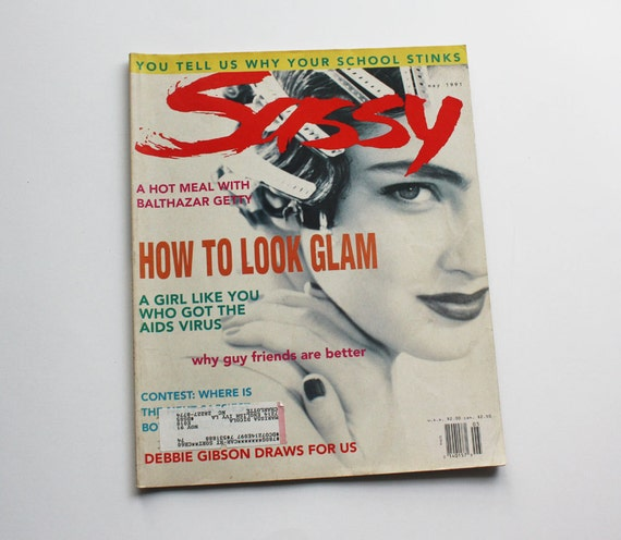 Vintage Sassy Magazine May 1991 Issue - Debbie Gibson, How to Look Glam, Retro Fashions & More