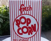 18 Retro Popcorn Box  .75 oz.