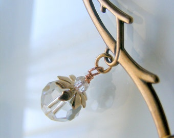 Winter frost necklace