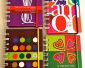 Little notebook bilingual love peace and faith messages