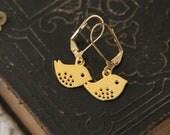 Sale Sparrow Gold Earrings